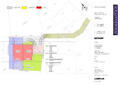 Lageplan-Entwurf 1