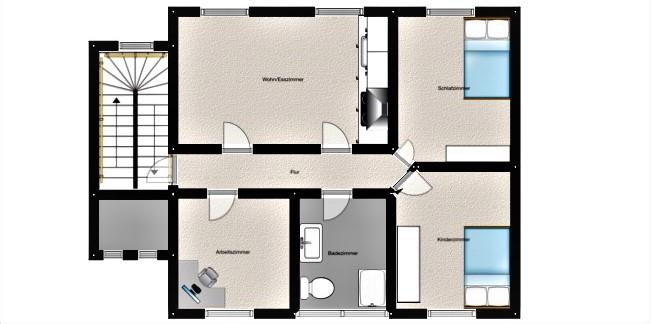 Sanierte 4,5 Zimmer Mietwohnung in Lüdenscheid-Brügge