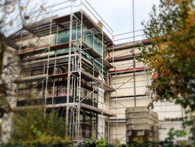 Hochpaterre Wohnung mit 65qm Privatgarten