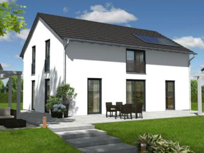 Landhaus 142 Modern Ansicht Gartenseite