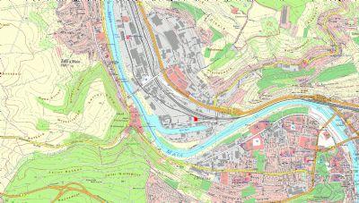 Übersichtskarte Neuer Hafen Würzburg