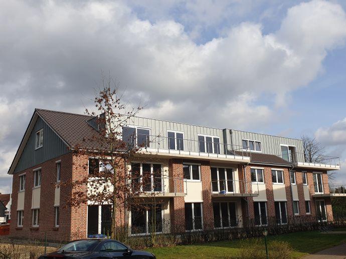 3-Zimmer-Neubauwohnung im 1. OG mit Balkon und Carport in Buschhausen