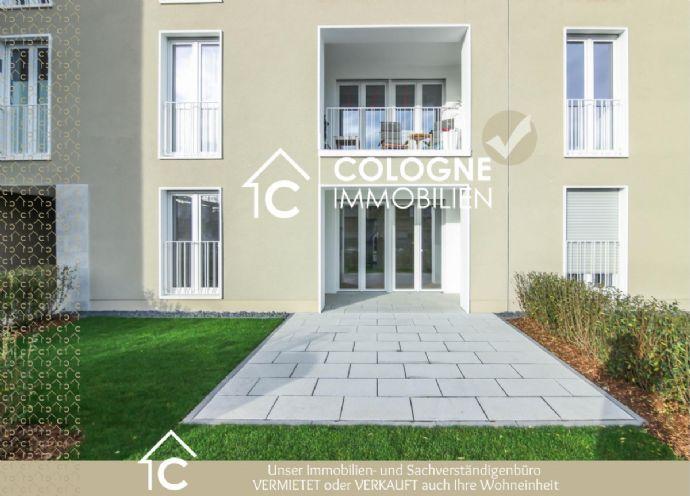 EXKLUSIVE Barrierefreie EG-NEUBAU-Wohnung mit Garten und Terrasse in Junkersdorf