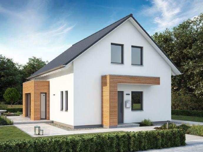 Wohnen und Arbeiten auf 2 Ebenen - wir bauen Ihren Traum und das Grundstück ist auch schon dabei