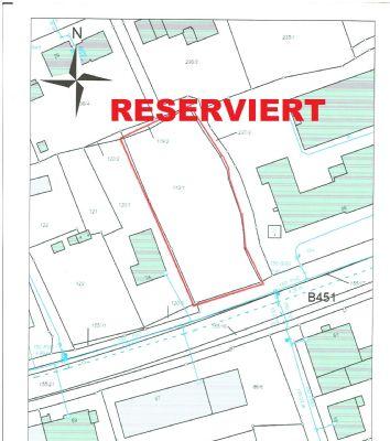 Baugrundstück 1088 qm in Kernstadt