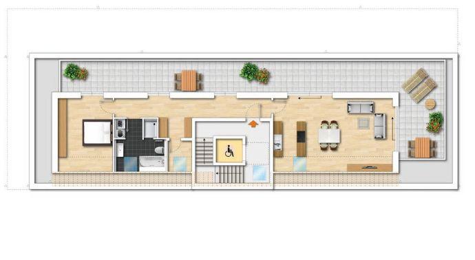 Einmalige Penthouse-Wohnung!