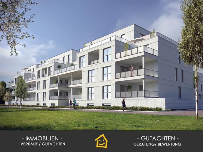 White City - Wohnen am Alten Hafen, Neubau, 3 Zimmer, 112 m² Wfl. Terrasse südwestliche Ausrichtun