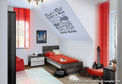 ...oder Jugendzimmer im OG