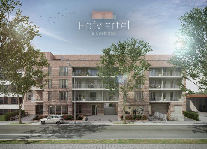 Ob als neuer Lebensmittelpunkt oder als wertstabile Geldanlage 3-Zimmer-Neubauwohnung in Hamburg-Eilbek