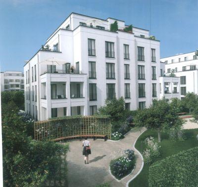 Beispiel: Gartenseite - Ecklagen-Balkon 1.OG links