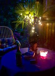 Abendliche Chill Outzone