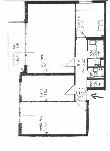 3-Zimmer-Wohnung in Schwachhausen