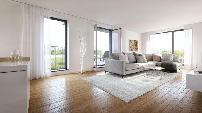 Großzügige 3-Zimmer-Wohnung - 2 Bäder - Balkon & Loggia - Vis-à-vis Schloßpark Nymphenburg - NEU! (712)