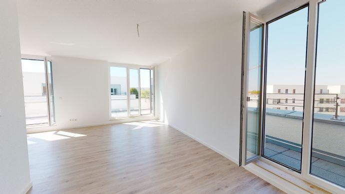 2-Zimmer-Wohnung mit 2 großen Dachterrassen im Borntal NEUBAU