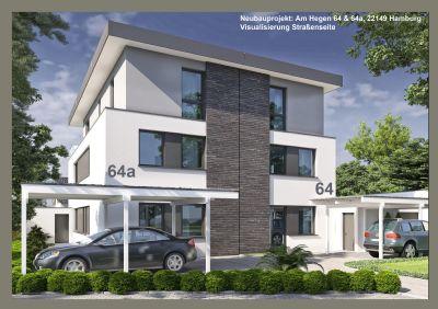 Baugrundstück für eine Doppelhaushälfte im Bauhausstil!