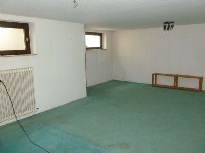 Hobbyraum im Untergeschoss 30 qm