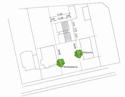 - Rahlstedt Oldenfelde - Baugrundstück mit Altbestand für bis zu vier Einheiten, positiver Bauvorbescheid vorhanden