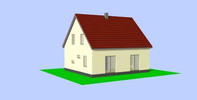 Planung am Mühlenbach 10 Terrasse