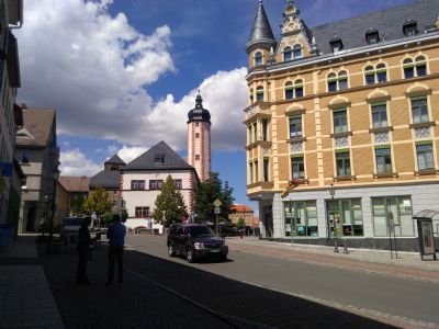 rund um Rathaus + Marktplatz