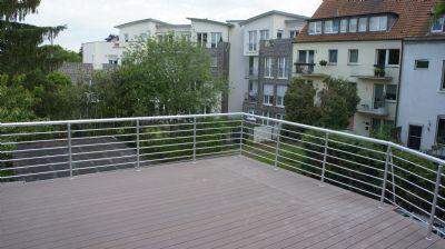 moderne Wohnung mit traumhafter Dachterrasse, hervorragende LAGE, Wilhelminenstr. 22 (Hamm Mitte), 2 ZKDB, ca. 70qm, 650€ warm