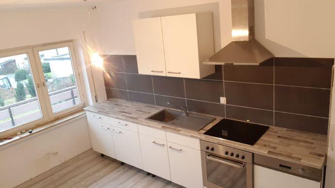 Schöne 3-Zimmer-Wohnung im KG mit Terasse+ kl. Garten in Marienheide zu vermieten