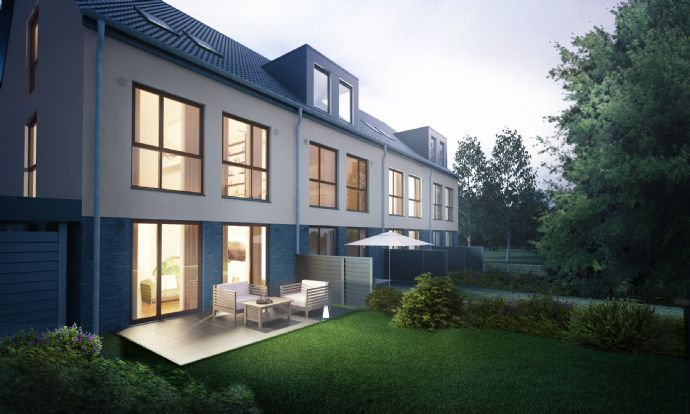 Top 5 bis 6 Zi. Neubau-Reihenmittelhaus in St. Magnus!