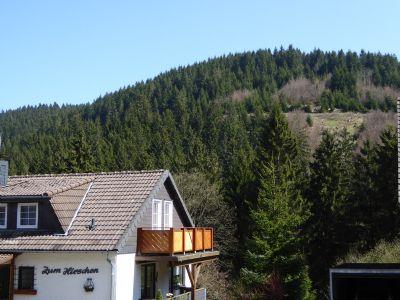 der Ausblick zum Sageholzkopf