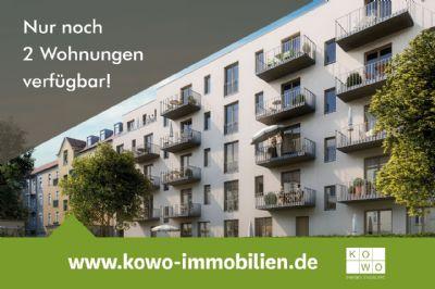 NEUBAU: 4-Zimmer-Wohnung mit Balkon und Loggia in Leipzig-Lindenau