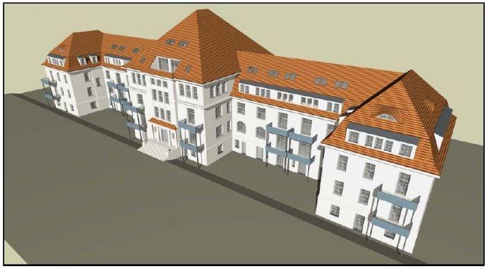 Sanierte 5 Raum Maisonette Wohnung in alter Kaserne zu vermieten