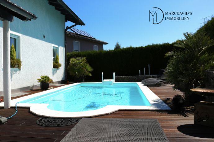 Traumhaus in Schwanenkirchen/Hengersberg, teilweise möbliert, beheizter Pool, Whirlpool, Sauna und vieles mehr!
