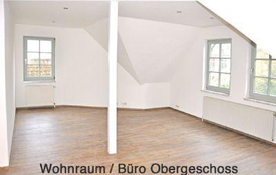 Obergeschoss-Wohnraum-Büro