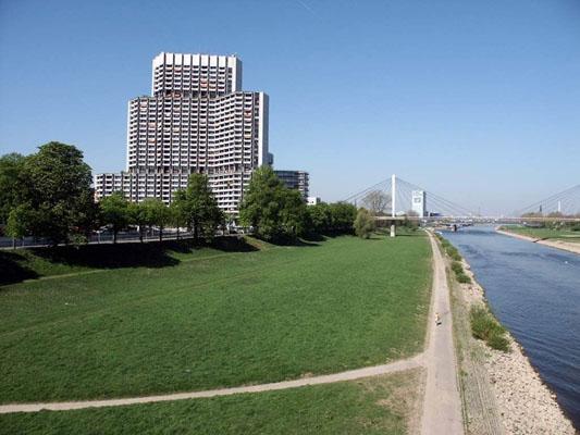 Tolle 2 Zimmer Wohnung 70 m² mit Blick auf die Stadt.
