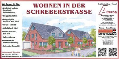 Bauschild Schreberstraße