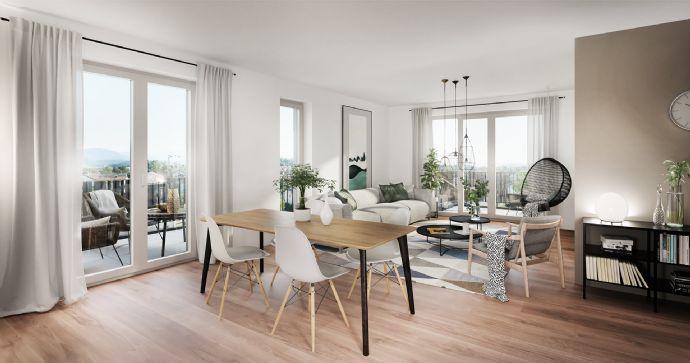 KfW 40 Plus 2-Zimmer-Wohnung mit