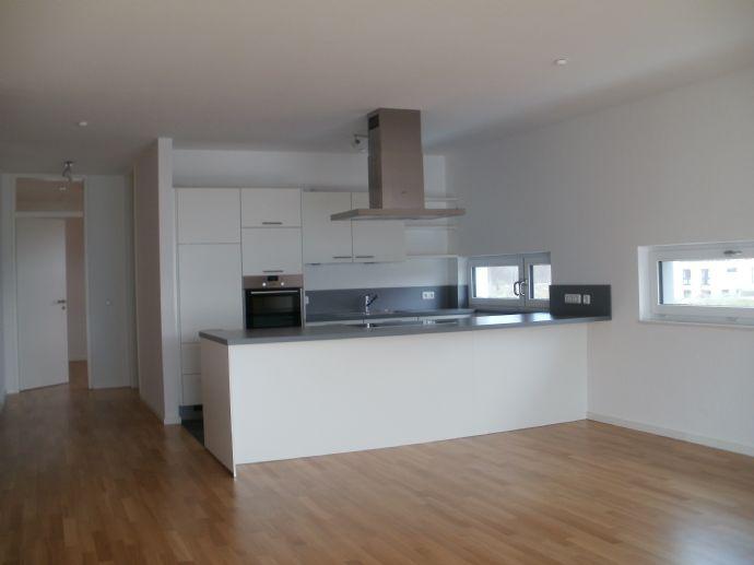 Lüneburg - Speicherquartier: Großzügige 3-Zimmer-Neubau-Wohnung im 2.OG mit Aufzug und Tiefgarage