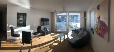 Einfach schick! Hochwertig möbliertes Apartment mit sonniger Terrasse im Nordwesten von Frankfurt ?
