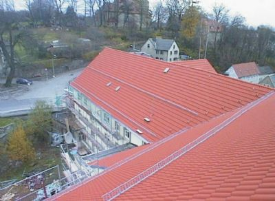 Gesamtes Dach vollisoliert