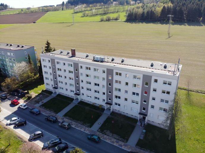 Schöne Drei-Raum Wohnung Erdgeschoss mit Balkon in ruhiger Lage Schwarzenberg-Heide zu vermieten!