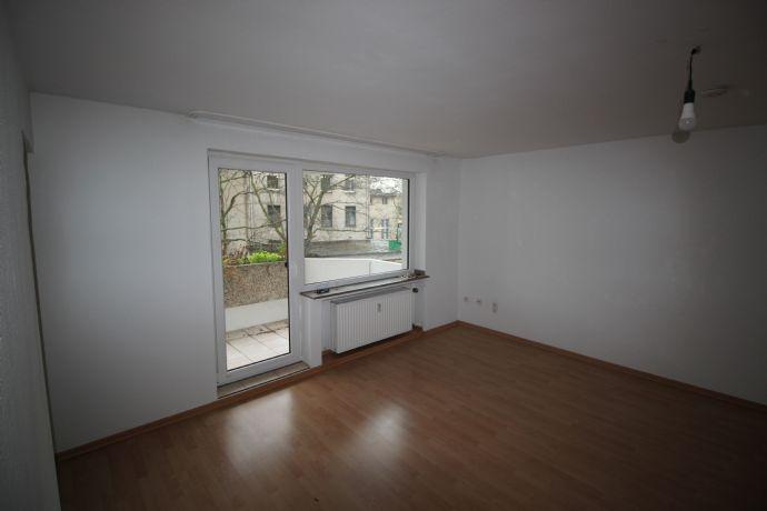 Duisburg- Wasserviertel, tolle 1 Raum Wohnung mit Balkon und Einbauküche