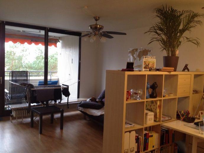 Schöne 2,5-Zimmer-Wohnung mit Balkon am schönen Europakanal in Erlangen zu vermieten