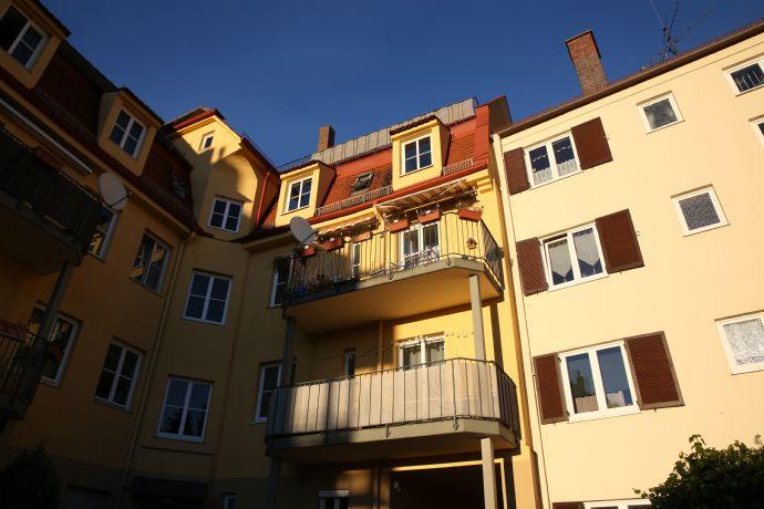Leben in Augsburg mit viel Wohnfläche zur Verfügung