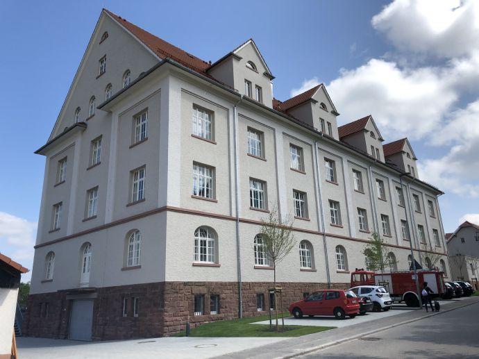 3-Zi.-Wohnung mit hochwertiger Ausstattung 105 m² Wfl. im 1. Obergeschoss mit Aufzug und Balkon