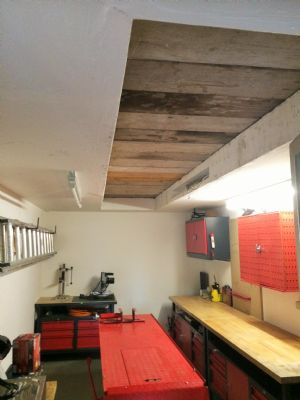 Raum unter der Garage