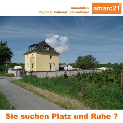 amarc21 - freistehendes EFH keine direkten Nachbarn auf großem eingezäunten Grundstück !