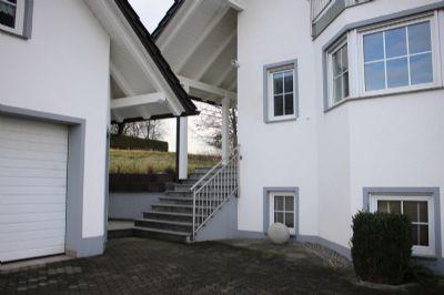 der Zugang zum Wohnhaus