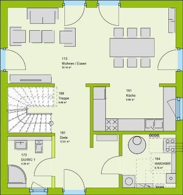 Grundrissvorschlag Erdgeschoss