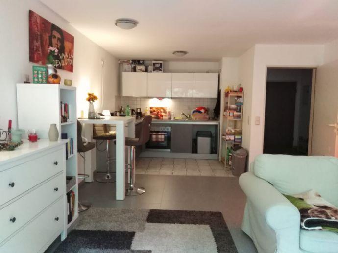 SB. St. Arnual - Schöne 2 ZKB-Wohnung ohne Balkon