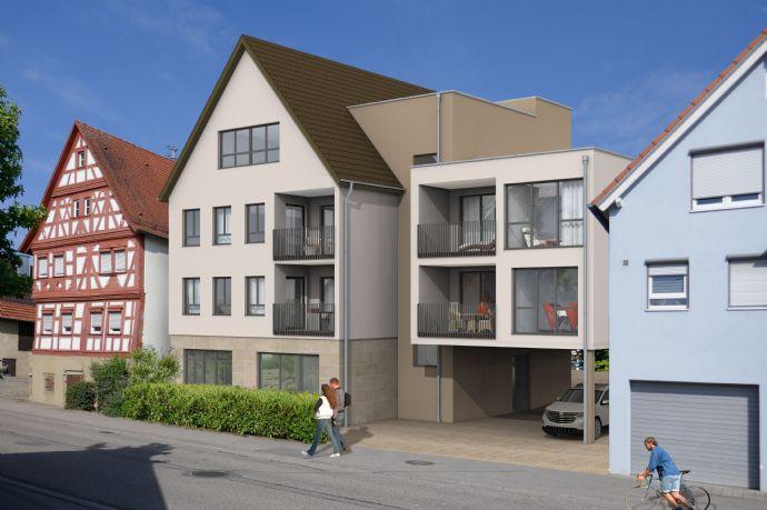 Abstatt - Wohnung mit Balkon in der 2. Etage -