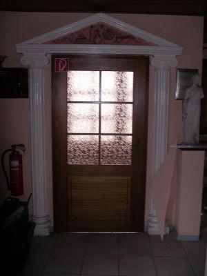 Eingang Gastraum