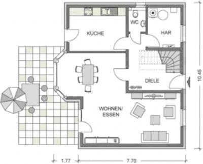 Beispielhaus/ Ausstattungsvariante